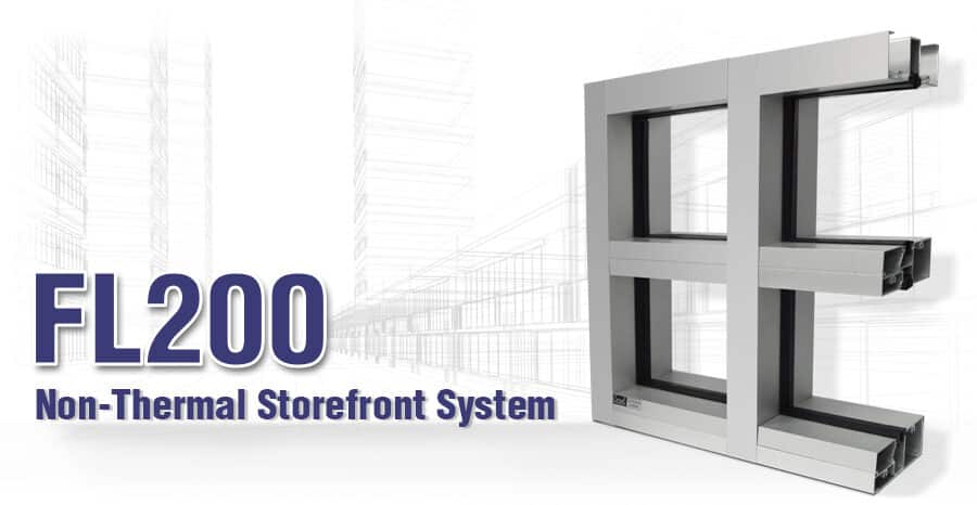 Coral Industries Storefront framing system